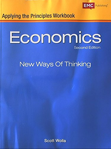 9780821968673: Economics New Ways of Thinking, Applying the Principles Workbook, Second Edition, 9780821968673, 082196867x