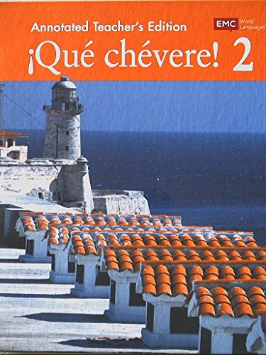 Que Chevere! Level 2, Annotated Teacher's Edition, 9780821969410, 0821969412