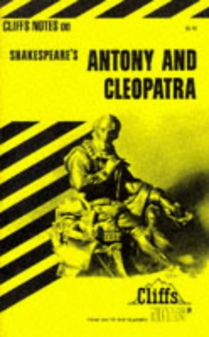 "9780822000020: Notes on Shakespeare's ""Antony and Cleopatra"" (Cliffs notes)"