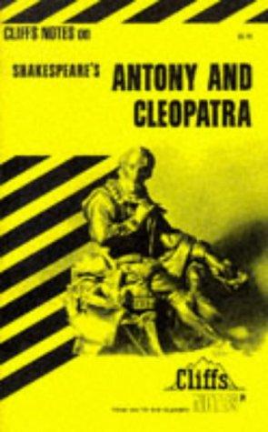 9780822000020: Antony and Cleopatra (Cliffs Notes)