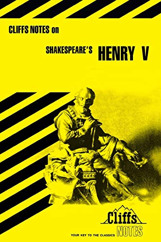 "Notes on Shakespeare's ""King Henry V"" (Cliffs: Fisher, Jeffery"
