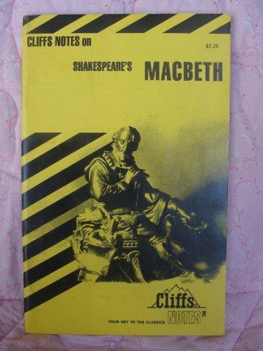 9780822000457: MacBeth Notes