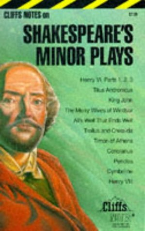 9780822000594: Shakespeare's Minor Plays: Notes (Cliffs notes)