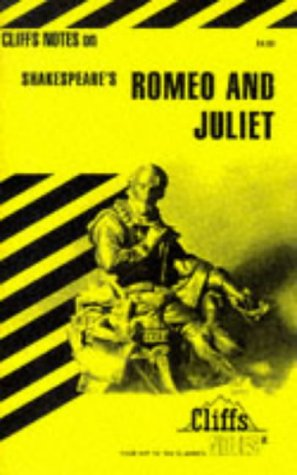 Cliffsnotes Romeo and Juliet: Cliffs Notes, Inc.