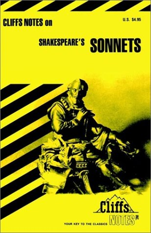 9780822000778: Shakespeare's Sonnets (Cliffs Notes)