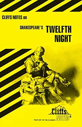 9780822000945: Shakespeare's Twelfth Night (Cliffs Notes)