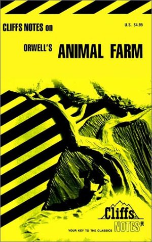9780822001744: Orwell's Animal Farm (Cliffs Notes)