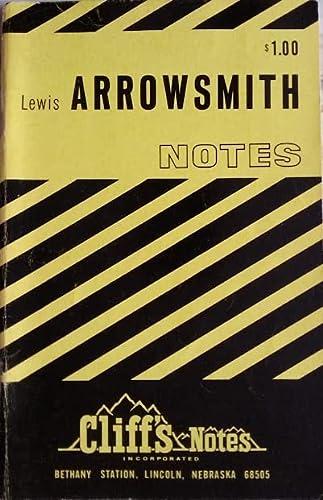 9780822002017: Arrowsmith (Cliffs Notes)