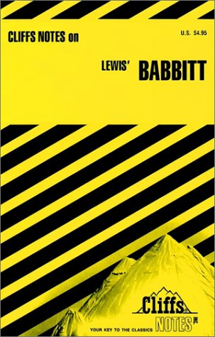 CliffsNotes on Lewis' Babbitt (0822002191) by Carey, Gary