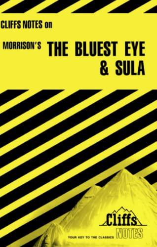 9780822002512: The Bluest Eye & Sula (cliffs notes)