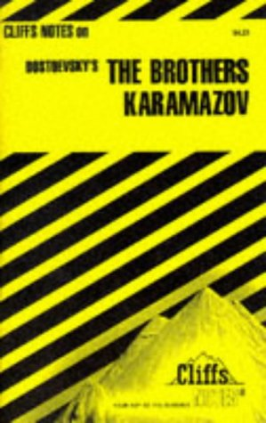 Dostoevsky's the Brothers Karamazov (Cliffs Notes) (0822002655) by Carey, Gary