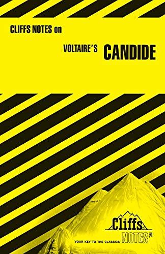 9780822002833: Candide (Cliffs Notes)