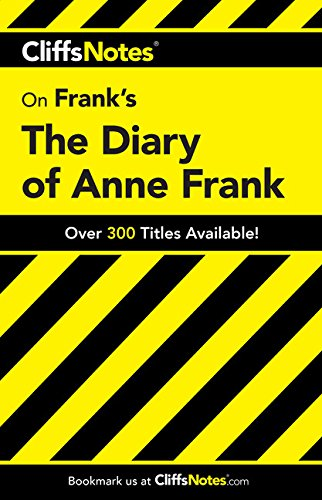 9780822003908: The Diary of Anne Frank (Cliffs Notes)