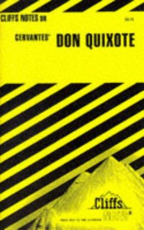 9780822004158: Notes on Cervantes'Don Quixote (Cliffs Notes)