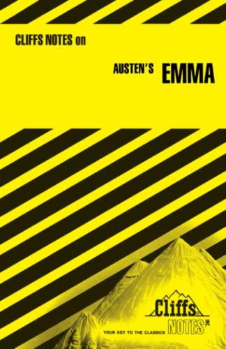 9780822004349: Austen's Emma (Cliffs Notes)