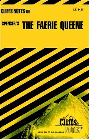 9780822004523: CliffsNotes on Spenser's The Faerie Queene