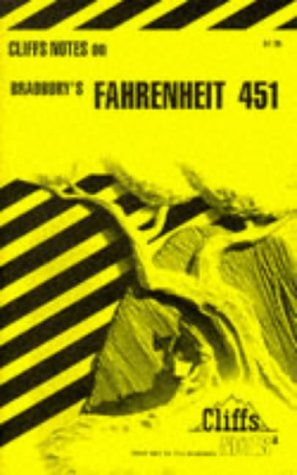 9780822004585: Bradbury's Fahrenheit 451 (Cliffs Notes)