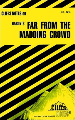9780822004653: CliffsNotes on Hardy's Far From the Madding Crowd