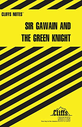CliffsNotes Sir Gawain and the Green Knight: Gardner, John N.