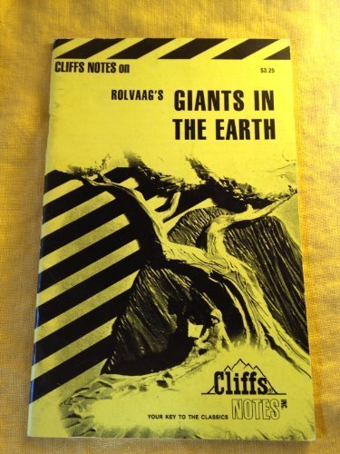 Cliff Notes: Giants in the Earth