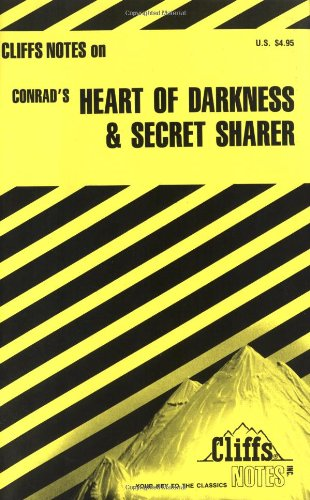 9780822005872: Conrad's Heart of Darkness and Secret Sharer (Cliffs Notes)