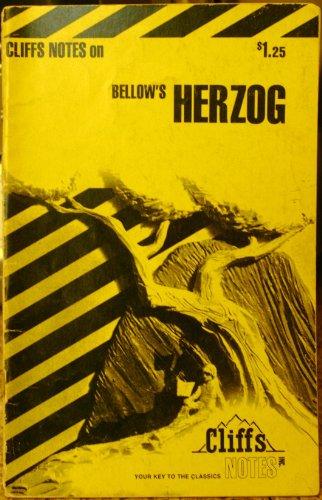 9780822005919: CliffsNotes on Bellow's Herzog