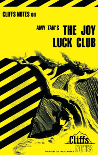 9780822006855: CliffsNotes on Tan's The Joy Luck Club (Cliffsnotes Literature Guides)