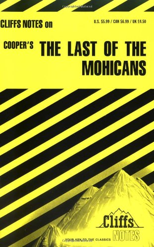 Cliffsnotes Last of the Mohicans: Roundtree, Thomas J.;