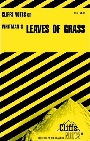 9780822007234: Whitman's Leaves of Grass (Cliffs Notes)