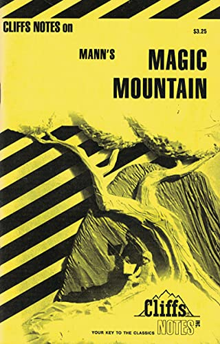 9780822007890: The Magic Mountain (cliffs notes)