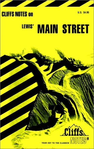 9780822007982: CliffsNotes on Lewis' Main Street