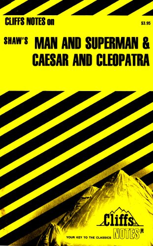 9780822008088: Cliffsnotes on Shakespeare's Caesar and Cleopatra (Cliffs notes)