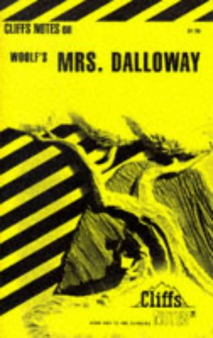Mrs. Dalloway (Cliffs Notes) (0822008556) by Carey, Gary