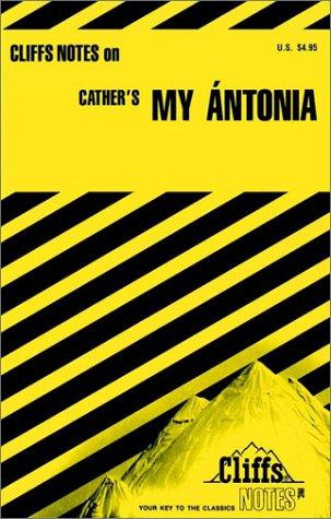 9780822008613: Cliffs Notes on My Antonia