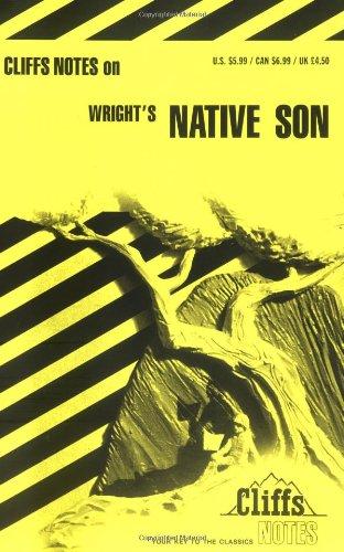 9780822008743: Native Son (Cliffs Notes)