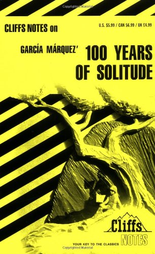 9780822009641: One Hundred Years of Solitude [Cliffs Notes Study]