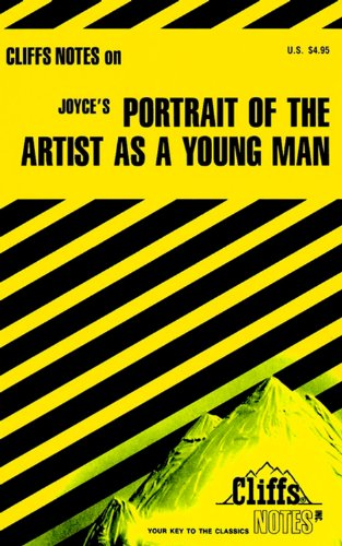 9780822010579: Joyce's Portrait of the Artist As a Young Man (Cliffs Notes)