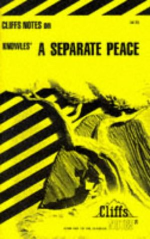 9780822011835: A Separate Peace (Cliffs Notes)