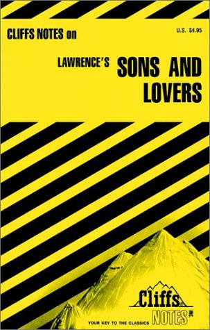 9780822012108: Cliffs notes on: Lawrence's: Sons and Lovers (Cliffs notes)