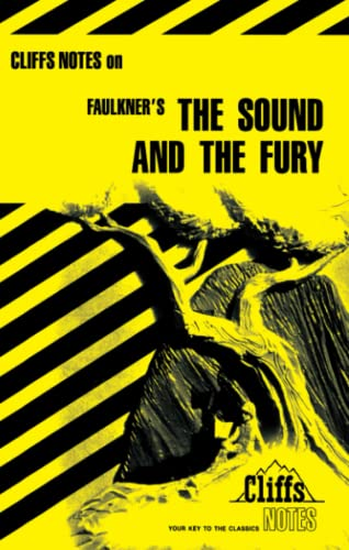9780822012191: The Sound and the Fury (Cliffs Notes)