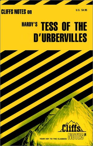 9780822012733: CliffsNotes on Hardy's Tess of the d'Urbervilles