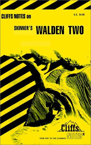 9780822013617: CliffsNotes on Skinner's Walden Two