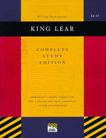 9780822014225: King Lear (Cliffs Complete Study Editions)