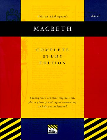 9780822014287: Macbeth (Cliffs Complete Study Editions)