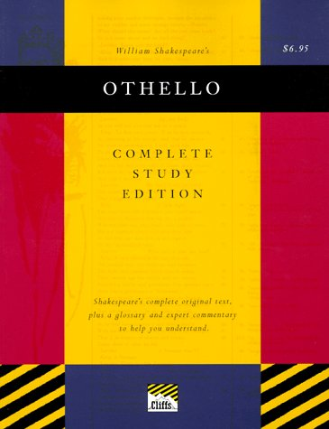 9780822014348: Othello: Complete Study Edition (cliffs notes)
