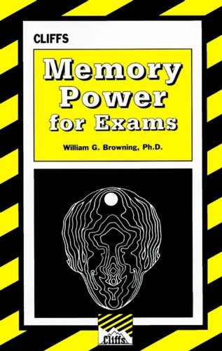 9780822020592: Memory Power For Exams (Cliffs Test Prep)