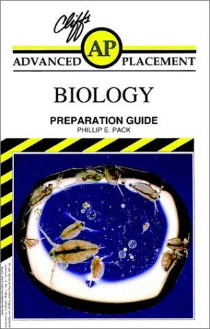 9780822023012: CliffsAP Biology Examination Preparation Guide (Advanced placement)