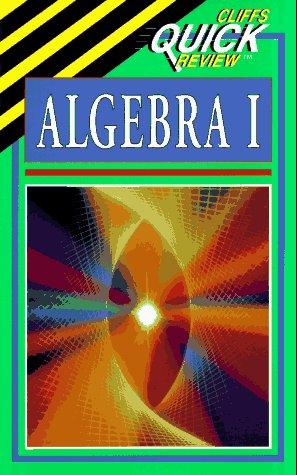 9780822053026: Algebra I (Cliffs Quick Review)