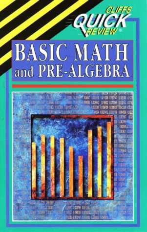 9780822053071: Basic Math and Pre-Algebra (Cliffs Quick Review)