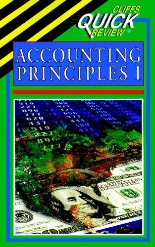 9780822053095: Cliffsquickreview Accounting Principles I